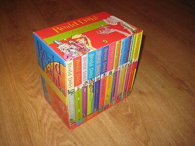 Roald Dahl 15 Book Box Series - Phizz-Whizzing Collection - Very Good Condition