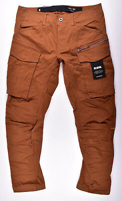 3d Stretch Raw Cubano Rovic G Tapered Trousers Star Zip Cargo pP7I6q