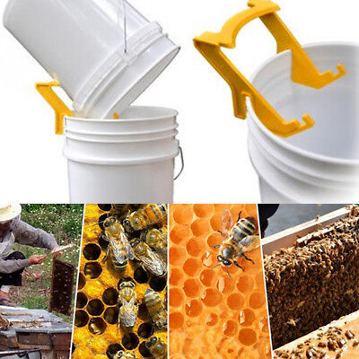 Plastic Honey Holder Bucket Rack Frame Grip Beekeeping Tool Bucket Rack N7
