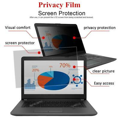 """Universal Privacy Filter Screen Protector Film Anti-spy For 13.3-15.6"""" Laptop SS"""