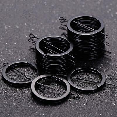12pcs Metal Keyrings Split Key Rings 25mm Hoop Ring Nickel Plated Steel Loop.