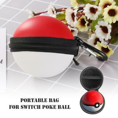 Hard EVA Carry Case Cover for Nintendo Switch Poke Ball Plus (with Keychain)