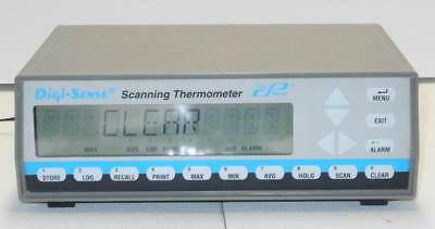 Cole-Parmer Digi-Sense 92000-00 12 Channel Thermocouple Scanner w/ Power Supply