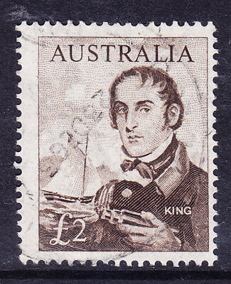 AUSTRALIA 1964 SG360 £2 sepia very fine used cat £75 select - 4 available