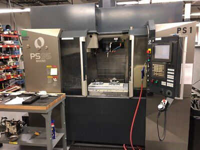 """Makino Ps95 5 Axis Cnc Vertical Machining Center 20""""X46"""" Table  07180400001"""