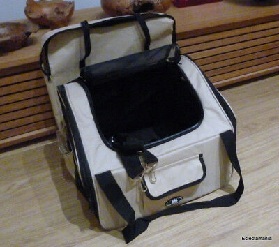 ME & MY PETS Dog / Puppy / Cat Car Travel Carry Crate - Medium Size Carrier