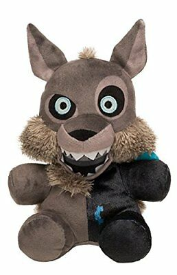 "New Authentic Five Nights At Freddy's Twisted One Wolf 8"" Plush Stuffed FNAF"