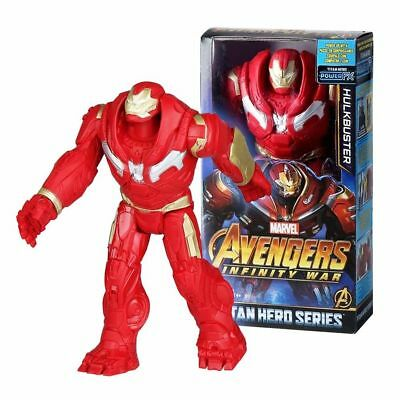 "Marvel Avengers Infinity War Titan Hero Series Hulkbuster 12"" Action Figure"