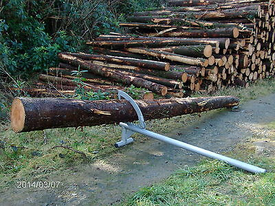 Log Lifter Saw Horse Log Holder Roller Chainsaw Ce Marked