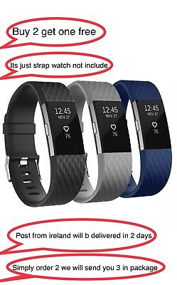 Luxury Special Edition Fitbit Charge 2 Wrist Straps Wristbands Best Replacement
