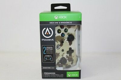 New PowerA Enhanced Wired Controller for Xbox One & Windows 10 - Sandstorm Camo