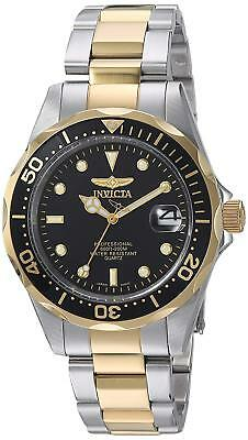 """Invicta Men's 8934 """"Pro-Diver Collection"""" Two-Tone Stainless Steel Watch, Silver"""