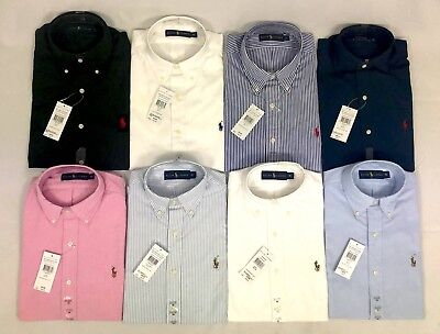 Polo Ralph Lauren Men's Poplin And Oxford Shirts All Sizes