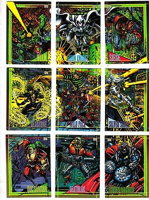 SKYBOX  Marvel Universe Series 4 1993 - 1 / 180 Cards - SET COMPLETO