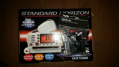 Standard Horizon GX1300/with/MMB-84 flush kit  black