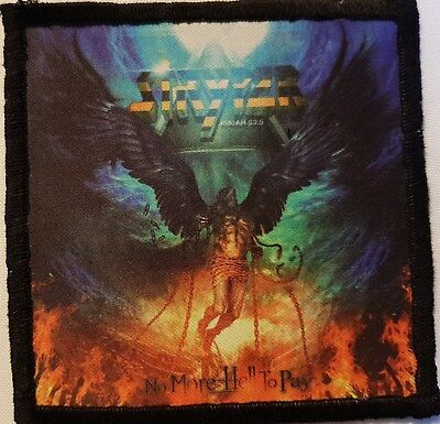STRYPER - No more hell -  printed patch - FREE SHIPPING