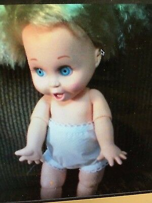 Two Galoob Baby Face Doll Cotton Panties