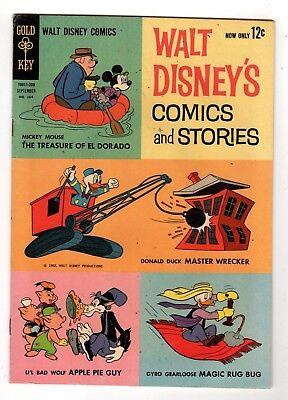 Gold Key Comics Walt Disney's Comics and Stories #12 Silver Age