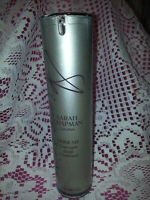 Sarah Chapman London Skinesis Overnight Body Treatment 4 oz nwob