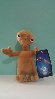 """ET Plush 8"""" New With Tags The Extra-Terrestrial"""