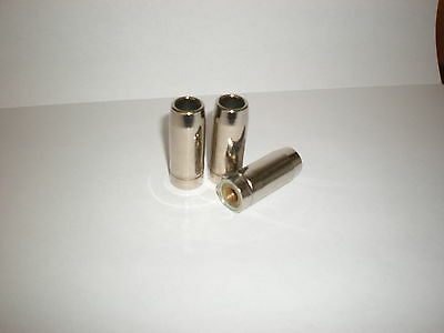 MB14 SCREW-ON MIG SHROUD/ NOZZLE x 3