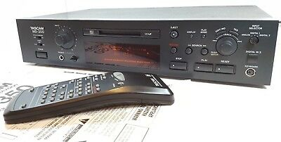 TASCAM MD-350 MDLP Professional Minidisc recorder with remote control