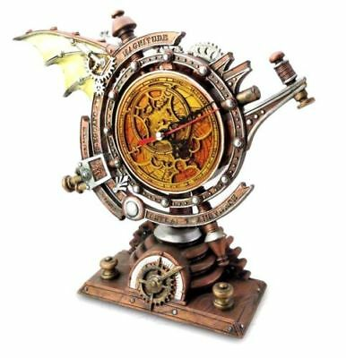 Alchemy Gothic The Stormgrave Chronometer. Steampunk Clock New and Boxed