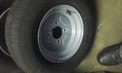 10 inch trailer wheel and tyre