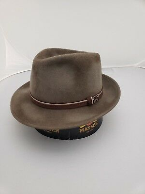 Michael Zechbauer by Mayser Gregory Fur Felt Fedora