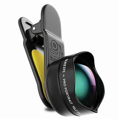 Black Eye - Pro Portrait Tele G4 Clip-on Zoom Lens for iPhone, Galaxy, Pixel