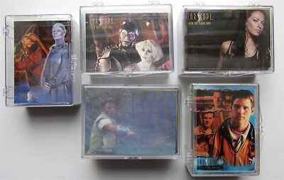 Farscape - 5 Trading Card Sets  - Rittenhouse 2000 - 2004
