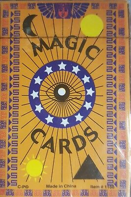Magic trick playing cards