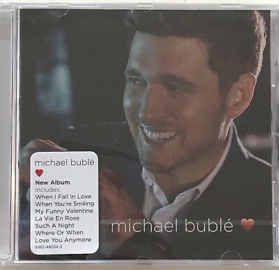 Michael Bublé Love ~ Factory New CD Sealed