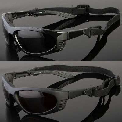 255c981588 Polarized Wind Resistant Sunglasses Sports Motorcycle Riding Glasses Foam  Padded