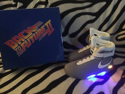 1576a7949c68 AIR MAG BACK TO THE FUTURE Marty McFly Universal Studios Licensed Custom  Size 11