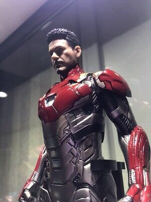 Spider Man Homecoming Crazy Toys 1/6 Iron man Action Figure MK47 Christmas Gift