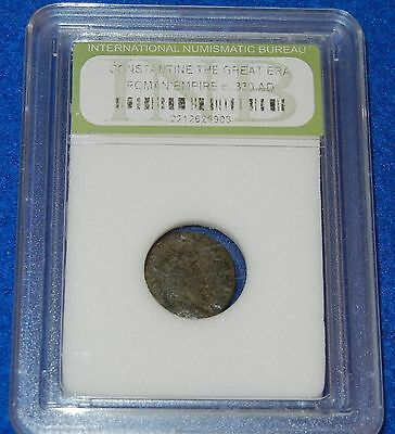#64 Authentic Ancient Constantine The Great Era Bronze Roman Coin 2212625903