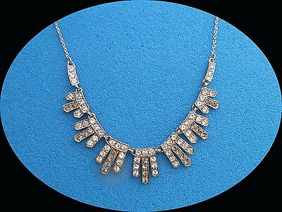 Vintage Bridal Necklace For Women Fashion Necklace With Australia Crystals 1063