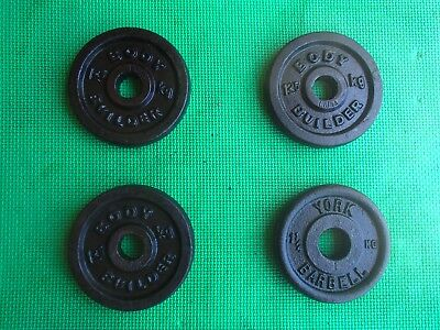 Weight Plates - 4 * 1.25kg