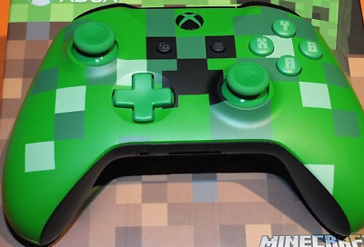 Official Minecraft Creeper Xbox One Wireless Controller | NEW | NO BATTERY DOOR