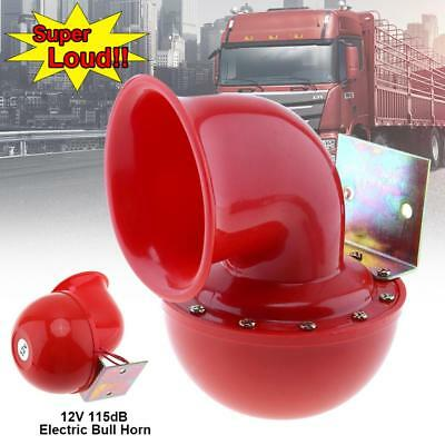 12V 115dB Red Electric Raging Bull Air Horn for Car Truck Motorcycle 12V 175HZ