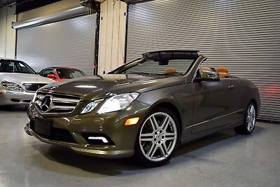 2011 Mercedes-Benz E-Class  2011 Mercedes-Benz E550 Cabriolet Launch Edition LOADED with 31k Miles !