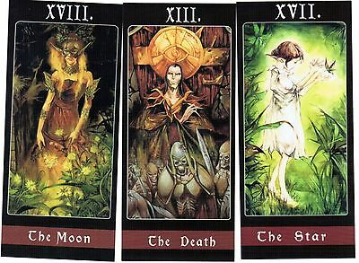 Oop Lorland Chain fine art tarot gothic cards deck*Hard to get*
