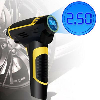 Rechargeable Car Tire Inflation Digital Air Pump Wireless Smart Air Compressor