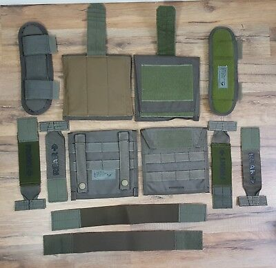 Eagle Industries RLCS Ranger Green MSAP Shoulder Deltoid Side Plate Carrier Kit