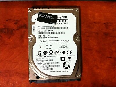 Seagate Laptop SSHD 1000GB ( 1TB ) Serial ATA Disc Drive 716263-002