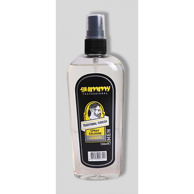Gummy Traditional Turkish Spray Cologne LEMON 150ml - also sell proraso