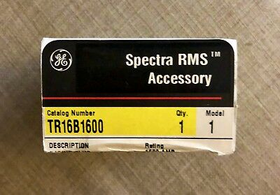 GE TR16B1600 Spectra RMS 1600 Amp Rating Plug-New In Box