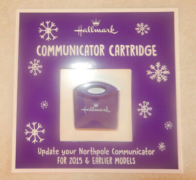 2018 Hallmark North Pole Communicator Refill Cartridge All New Messages