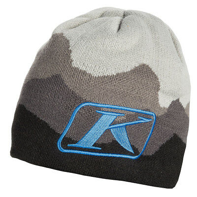 2019 Klim Adult Blue Insulated Beanie Knit Hat - Snow - Snowmobile - New
